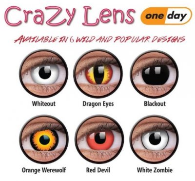Crazy ONE DAY Contact Lenses